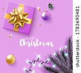 christmas banner. with... | Shutterstock .eps vector #1783690481