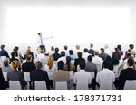 large business seminar with... | Shutterstock . vector #178371731