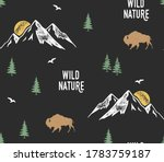 vector seamless pattern with... | Shutterstock .eps vector #1783759187