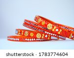 Beautiful Orange Indian Bangles ...