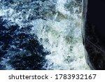 Motor Boat Engine In Water ...