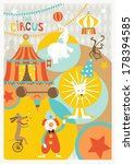 Circus Retro Styled Poster