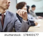 business people in meeting. | Shutterstock . vector #178403177