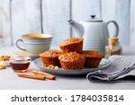 Carrot Muffins  Cakes With Cup...