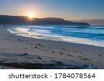 Sunrise Seascape With Sun...