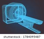magnetic resonance imaging low... | Shutterstock .eps vector #1784095487
