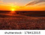 a view of the sunset in the... | Shutterstock . vector #178412015