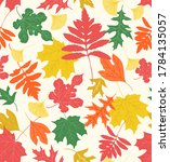 sophisticated seamless repeat... | Shutterstock .eps vector #1784135057