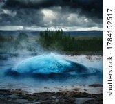 Strokkur Eruption   Geyser In...