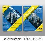 business brochure flyer design... | Shutterstock .eps vector #1784211107