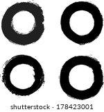 set of grunge stamp  | Shutterstock .eps vector #178423001