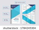healthcare or medical  trifold...   Shutterstock .eps vector #1784245304