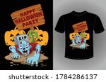 halloween t shirt design  ... | Shutterstock .eps vector #1784286137