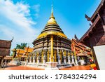 Ancient Pagoda Of Prathat...