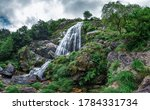 Small photo of Belelle waterfall in Neda, Galicia, Spain