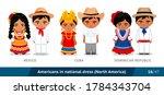 mexico  cuba  dominican... | Shutterstock .eps vector #1784343704