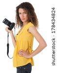 portrait of a female... | Shutterstock . vector #178434824