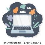 flat cartoon style vector of... | Shutterstock .eps vector #1784355641