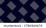 white modern stripes on blue... | Shutterstock .eps vector #1784364674