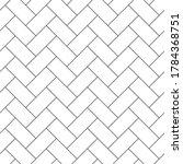 floor paving  cladding  masonry ... | Shutterstock .eps vector #1784368751