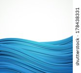 blue water stripes background ... | Shutterstock .eps vector #178438331