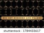 set of decorative vintage... | Shutterstock .eps vector #1784433617