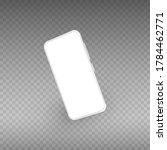 white smartphone mockup....