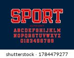 sports team embroidery style... | Shutterstock .eps vector #1784479277