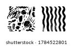 brush strokes isolated. ink... | Shutterstock .eps vector #1784522801