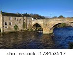 Stone Bridge And Building In...