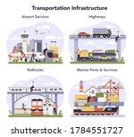 transportation infrastructure...   Shutterstock .eps vector #1784551727