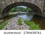 Cromwells Bridge In The Ribble...