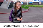 back to school concept. smiling ... | Shutterstock . vector #1784663864