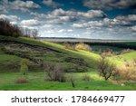 Erosion Of Land On A Hillside...