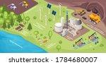 renewable energy resources and... | Shutterstock .eps vector #1784680007