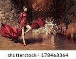 glamorous woman | Shutterstock . vector #178468364