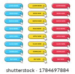 big set of web buttons with... | Shutterstock .eps vector #1784697884