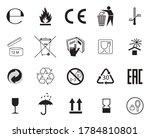 set of packaging symbols....   Shutterstock . vector #1784810801