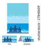 christmas greeting card | Shutterstock .eps vector #17848609