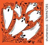 Ghost Character. Halloween...
