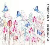 illustration with gentle vector ...   Shutterstock .eps vector #1785020831