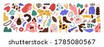 bundle of abstract trendy... | Shutterstock .eps vector #1785080567