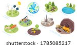 natural resources icons  eco... | Shutterstock .eps vector #1785085217