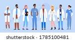 doctor people diversity vector... | Shutterstock .eps vector #1785100481