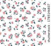floral seamless pattern.... | Shutterstock .eps vector #1785146837
