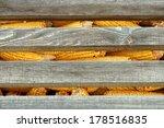 corn in a silo. old corn in a... | Shutterstock . vector #178516835