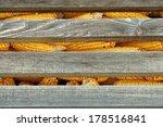 corn in a silo. old corn in a... | Shutterstock . vector #178516841