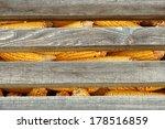 corn in a silo. old corn in a... | Shutterstock . vector #178516859