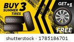 car tires shop banner with...   Shutterstock .eps vector #1785186701