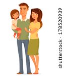cute cartoon illustration of a... | Shutterstock .eps vector #178520939